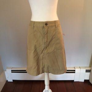 Merona khaki skirt
